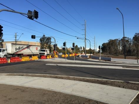 BUNGARRIBEE PARK – MAIN ENTRANCE INTERSECTION WORKS